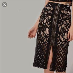 Keepsake the Label - Bridges Lace Skirt